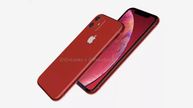 iPhone XR © OnLeaks & PriceBaba