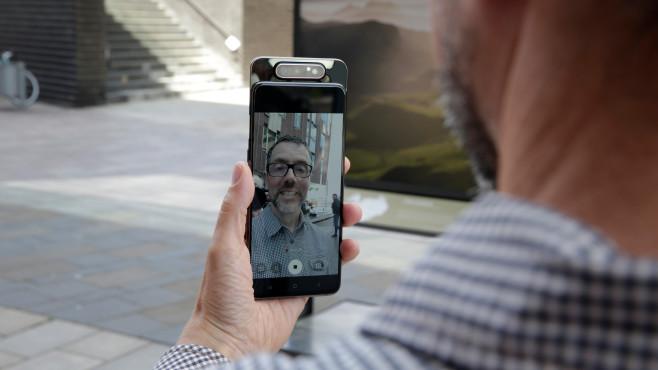 Samsung Galaxy A80 Test©COMPUTER BILD