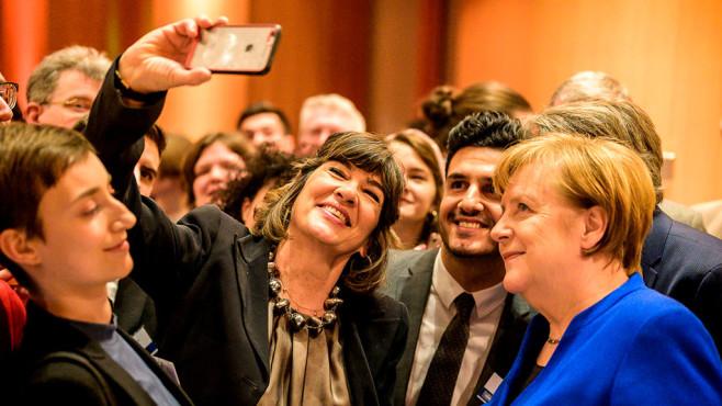Angela Merkel Selfie©Bundesregierung / Denzel