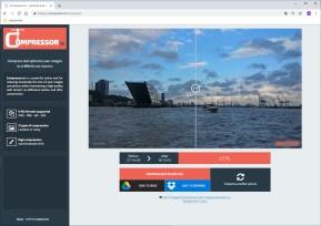 Compressor.io: JPEG-Fotos & PNG-Bilder verkleinern