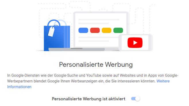 Google kennt Interessen seiner Nutzer: Das glaubt der Dienst über Sie zu wissen©COMPUTER BILD