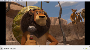 VLC Media Player © VideoLAN / DreamWorks Animation