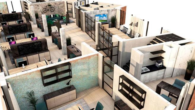 Neue Firmenzentrale von Ashampoo und CleverReach©2019 DESIGNERS HOUSE