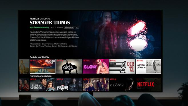 Apple Streaming-Dienst©Apple, Netflix