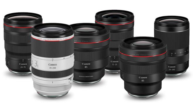 Canon EOS Objektive©Canon