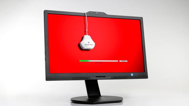 Monitor kalibrieren mit dem Datacolor SpyderX©COMPUTER BILD