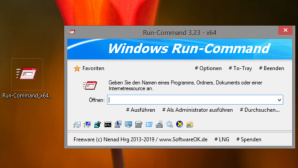 Run-Command: Alternative zum Ausf�hren-Dialog in Windows © COMPUTER BILD