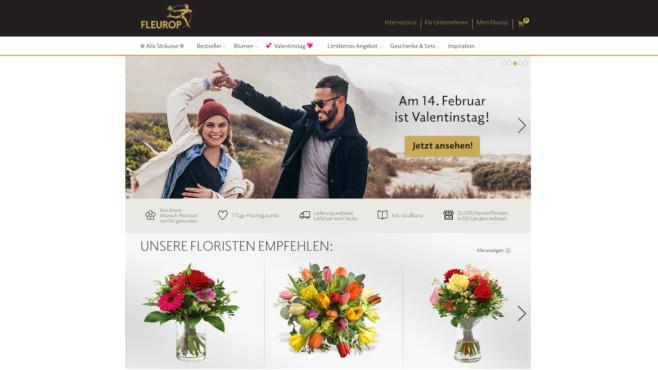 Fleurop Valentinstag-Angebote©Fleurop
