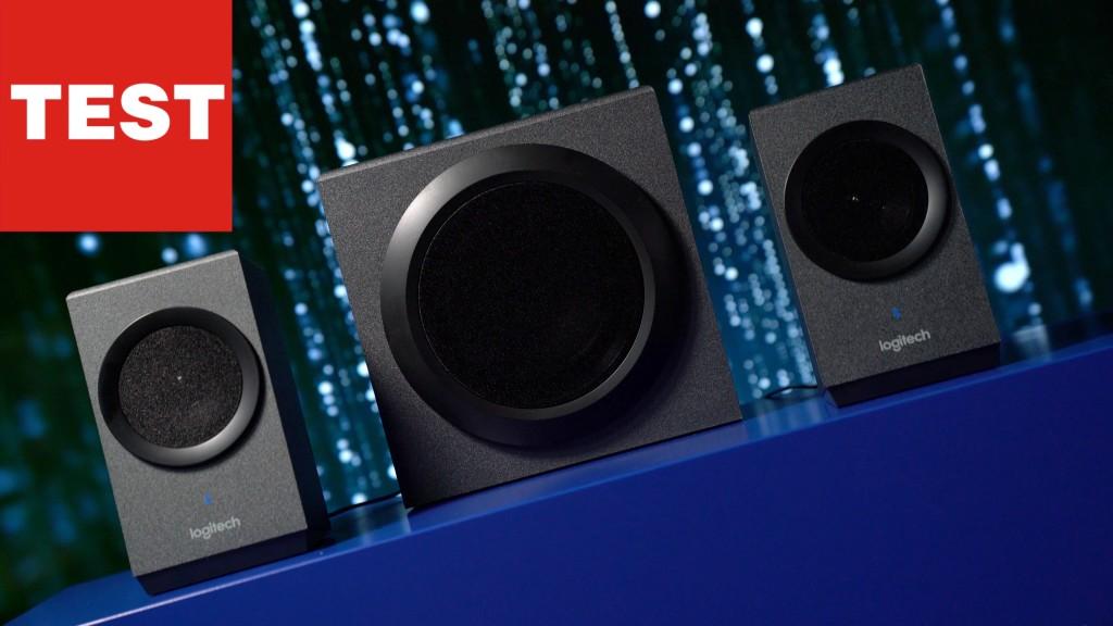 pc boxen mit bluetooth logitech z337 im test audio. Black Bedroom Furniture Sets. Home Design Ideas