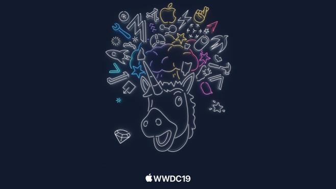 WWDC 2019: Einhorn-Logo©Apple