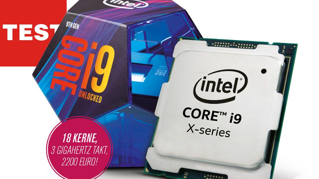 Intel Core i9-9980XE im Test©Intel, COMPUTER BILD