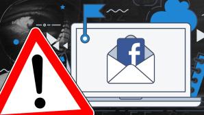 Facebook-Mail mit Warnsignal©magele-picture - Fotolia.com, ©istock/Molnia, ©istock/stevanovicigor