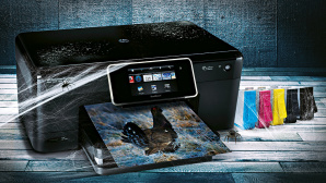 HP Multifunktionsdrucker © Hewlett Packard, ©istock/MATJAZ SLANIC