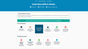 Bausätze für Alexa-Skills©Amazon