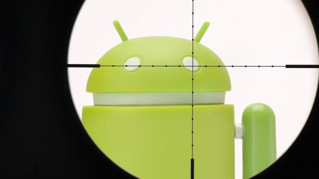 Android-Nutzer im Fadenkreuz©Google / COMPUTER BILD
