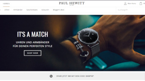 Paul Hewitt Cashback-Aktion © PR/Screenshot www.paul-hewitt.com
