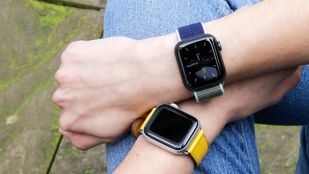 Always-on-Display der Apple Watch 5