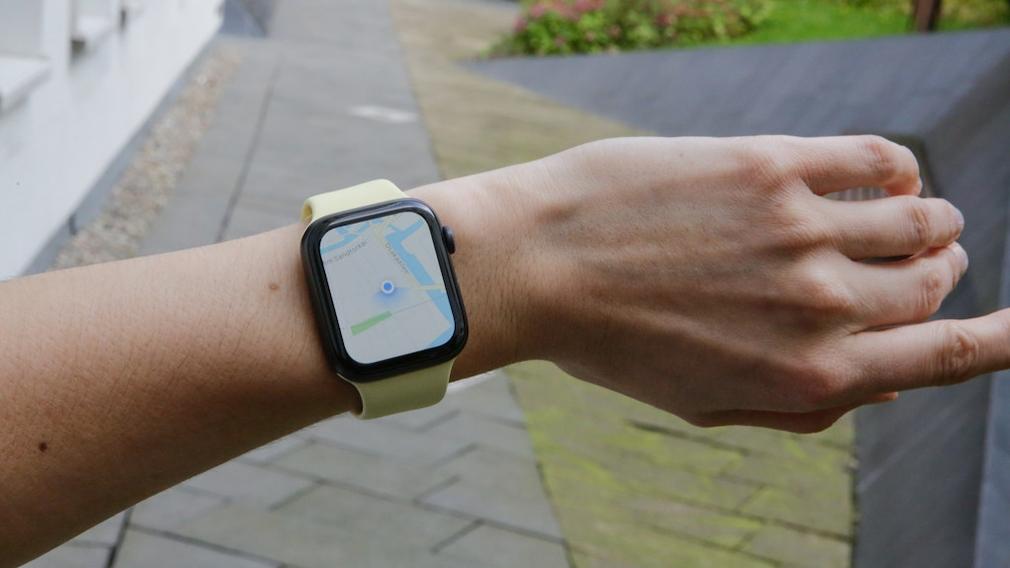Kompass der Apple Watch Series 5