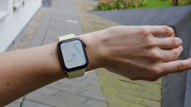 Kompass der Apple Watch Series 5©COMPUTER BILD