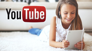 Kind schaut mit Tablet YouTube-Video © Alena Ozerova - fotolia.de, YouTube