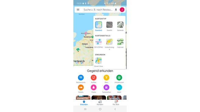 Google Maps: Neue Street-View-Funktion©COMPUTER BILD, Google
