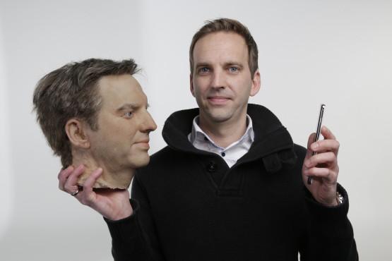 Gesichtserkennung: Test mit Kunstkopf ©COMPUTER BILD