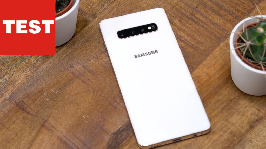 samsung galaxy s10 plus im test bestes smartphone aller. Black Bedroom Furniture Sets. Home Design Ideas