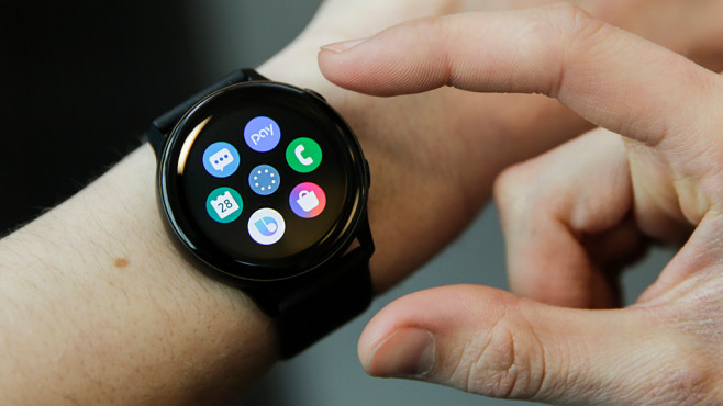 Samsung Galaxy Watch Active Apps © COMPUTER BILD
