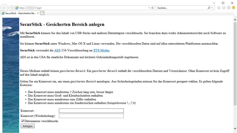 Screenshot 1 - SecurStick