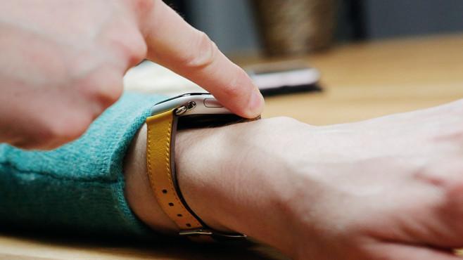 Apple Watch Series 4 ©COMPUTER BILD / Alena Zielinski