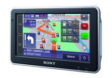 Sony NV-U93T: Navigationssystem mit TMC und Bluetooth-Freisprech- einrichtung Sony NV-U93T