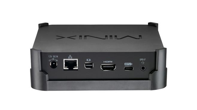 Minix Neo N42C-4 Anschlüsse©Minix