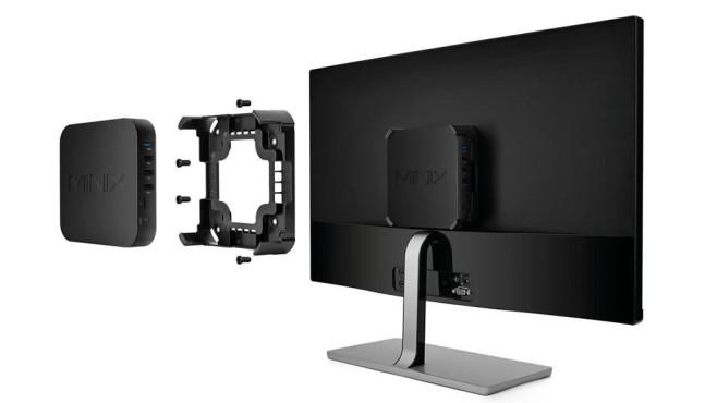 Minix Neo N42C-4 Monitor-Halterung©Minix