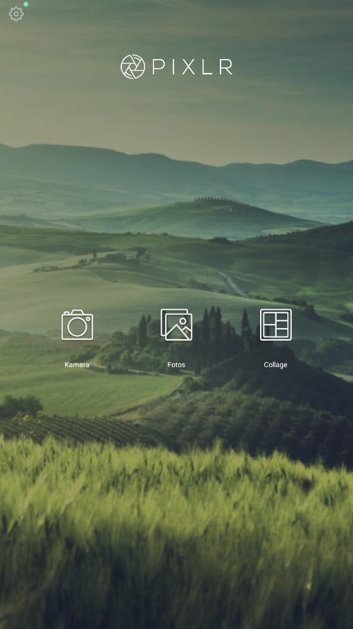 Screenshot 1 - Pixlr (App für iPhone & iPad)