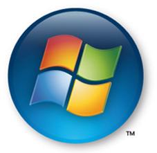 So wechseln Sie von Windows XP auf Vista Vista löst XP ab, auch mit dem offiziellen Logo.