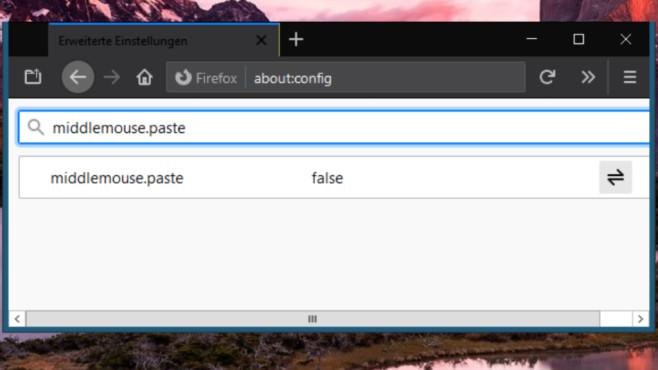 Einfügen per Mausrad: So geht es in Firefox und systemweit©COMPUTER BILD