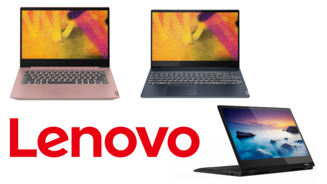 Lenovos neueste Notebook-Kreationen © Lenovo