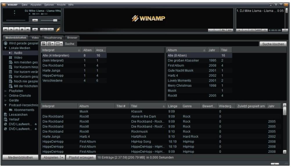 Screenshot 1 - Winamp