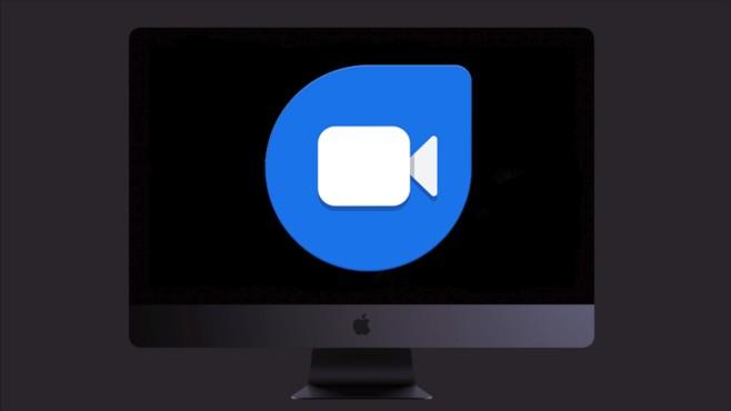 Google Duo-Logo auf iMac Pro©Google/Apple/Montage COMPUTER BILD