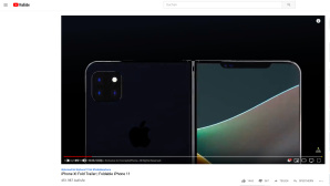 iPhone X Fold Design © Screenshot YouTube/ADR Studio Designs/ConceptsiPhone