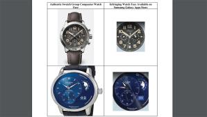 Samsung und Swatch im Vergleich©Samsung / Swatch