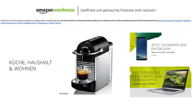 Amazon: B-Ware günstig kaufen © Amazon
