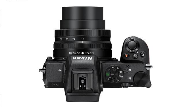 Nikon Z50 Oberseite©Nikon