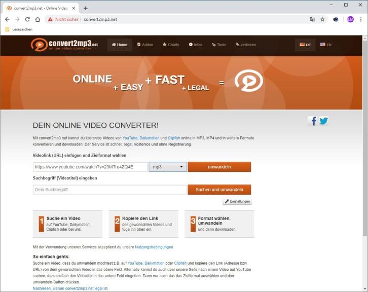 Ist Convert2mp3 Net Legal