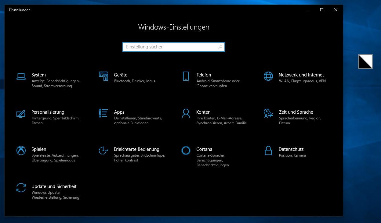 Screenshot 1 - Easy Dark Mode für Windows
