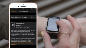 watchOS 6.1 für die Apple Watch©COMPUTER BILD, Screenshot, Apple, Montage: COMPUTER BILD