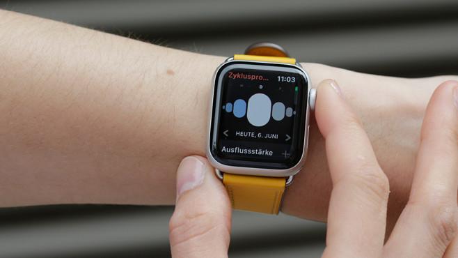 watchOS 6: Zyklus-App auf Apple Watch©COMPUTER BILD