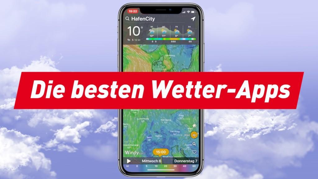 Die 7 besten Wetter-Apps: Immer wissen, was kommt