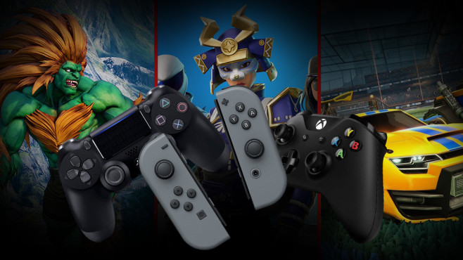 Crossplay-Games©Nintendo, Capcom, Epic Games, Sony, Microsoft, Psyonix