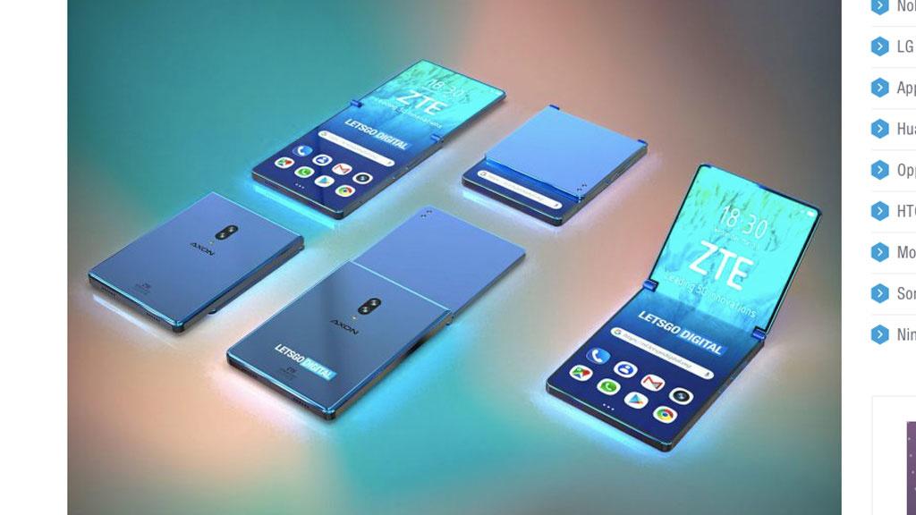 ZTE-Falt-Smartphone setzt auf ungewöhnliches Design
